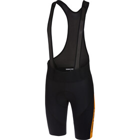 Castelli Velocissimo IV Bib Shorts Heren, black/orange